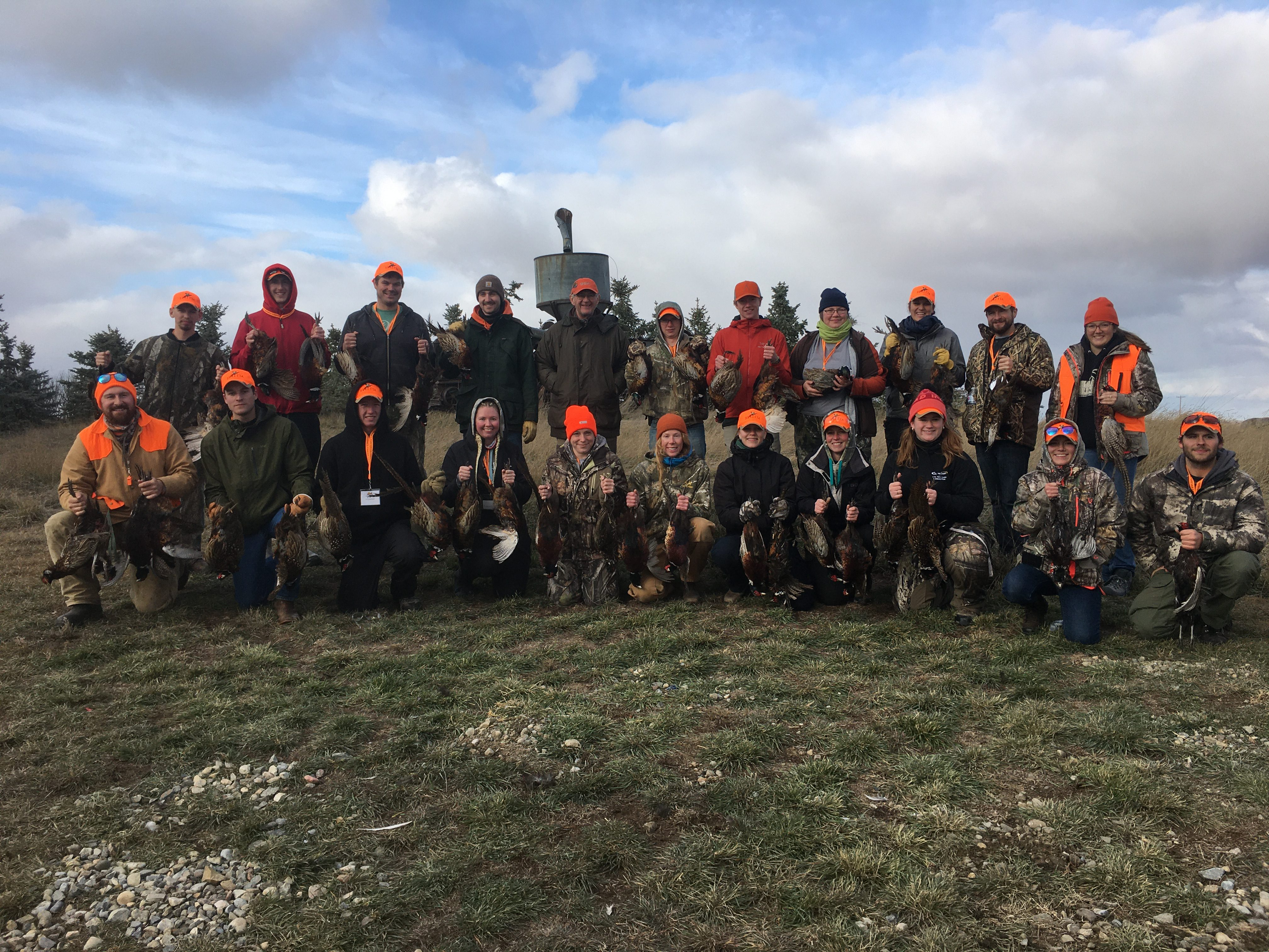 3rd ANNUAL LETHBRIDGE POST-SECONDARY FIRST PHEASANT MENTOR HUNT